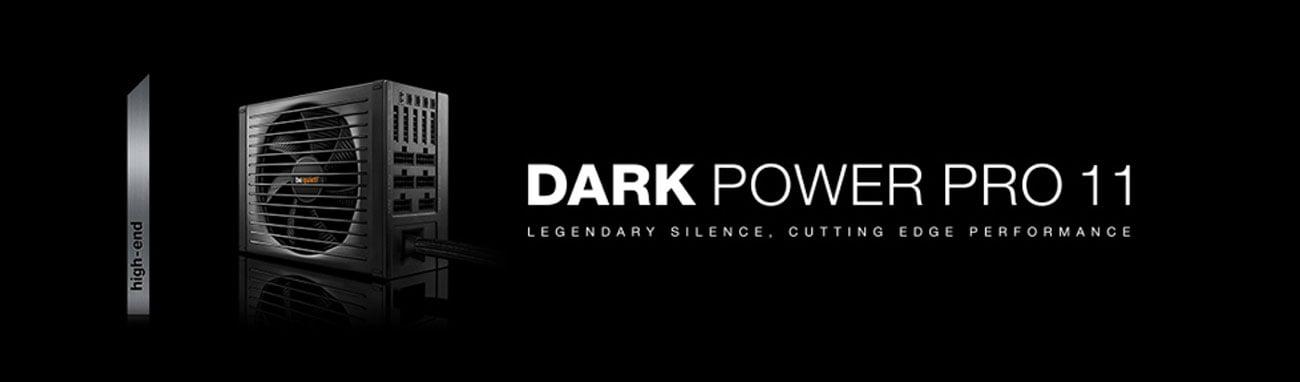 be quiet! 550W Dark Power PRO 11 wentylator overclocking modularne okablowanie