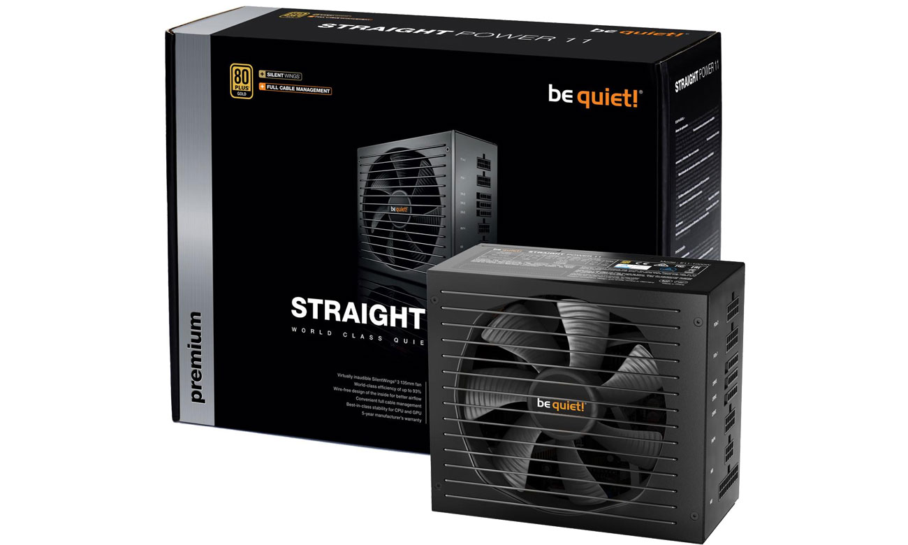 Zasilacz do komputera be quiet! 450W Straight Power 11 BN280