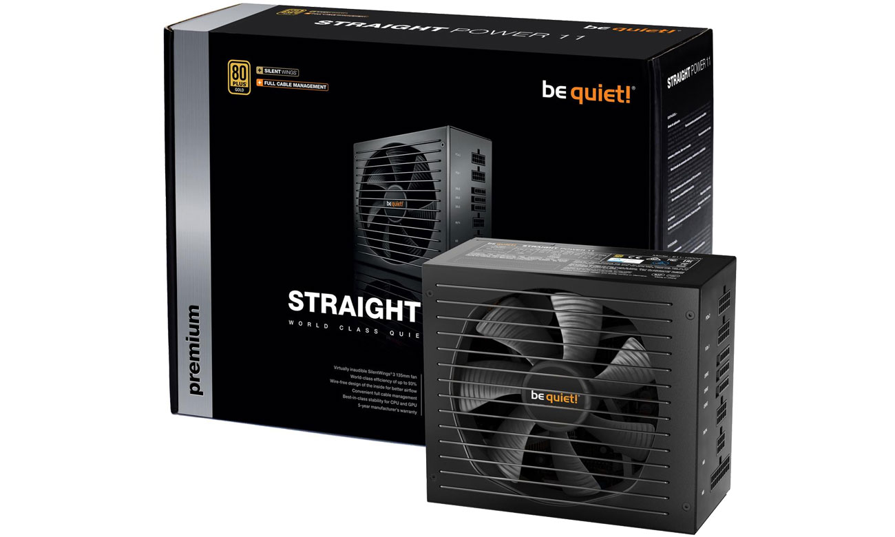 Zasilacz do komputera be quiet! 550W Straight Power 11 BN281