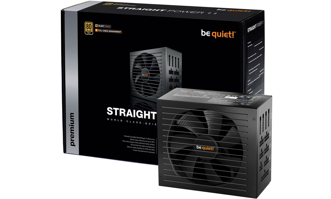 Zasilacz do komputera be quiet! 850W Straight Power 11 BN284