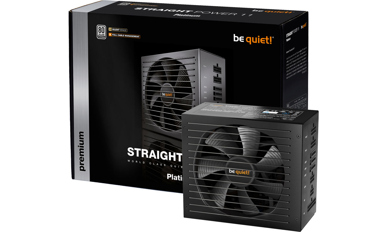 Zasilacz do komputera be quiet! Straight Power 11 650W 80 Plus Platinum BN306