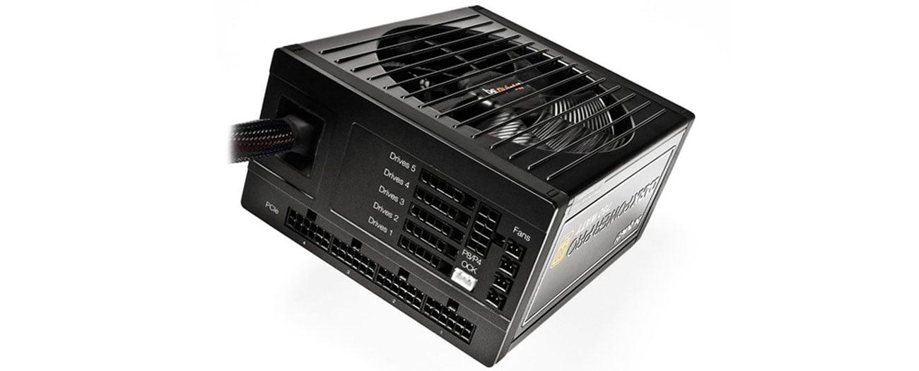 Zasilacz komputerowy Be Quiet 650W Dark Power PRO 11 BOX BN251 cisza wygoda żywotność