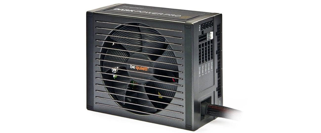 Zasilacz komputerowy Be Quiet 650W Dark Power PRO 11 BOX BN251 wydajny wentylator