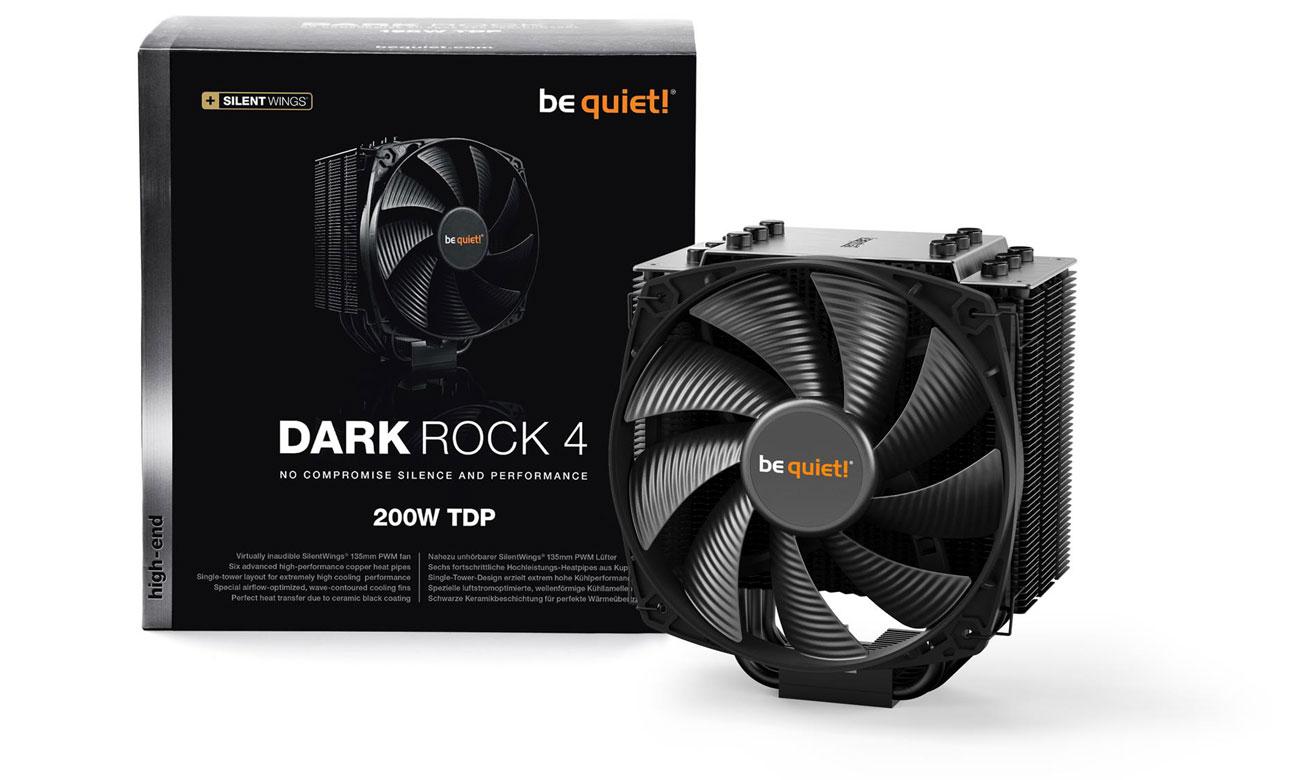 Chłodzenie procesora be quiet! Dark Rock 4