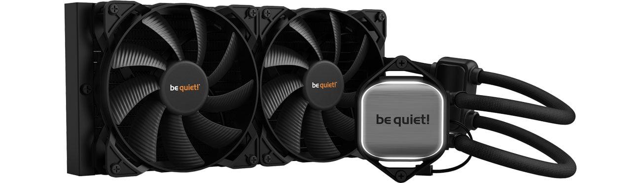 Chłodzenie procesora be quiet! Pure Loop 280mm 2x140mm BW007