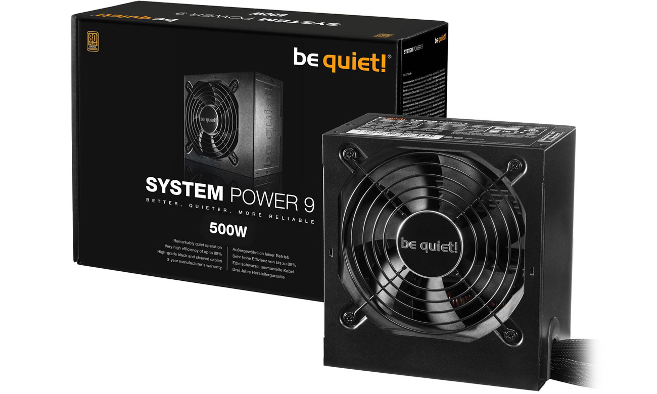 Zasilacz be quiet! System Power 9 500W BN246