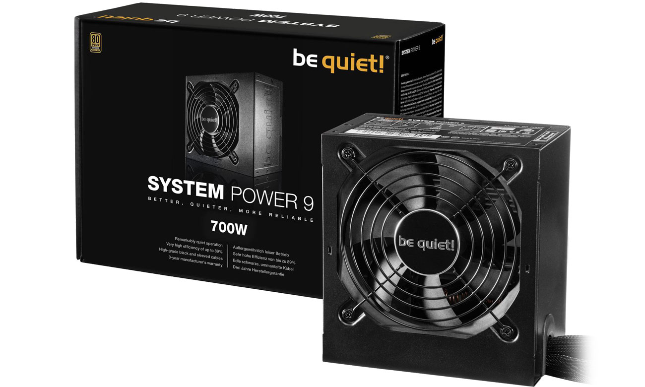Zasilacz be quiet! System Power 9 700W BN248