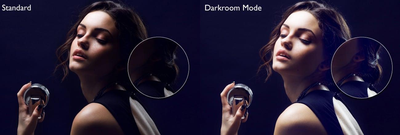 Tryb Darkroom mode
