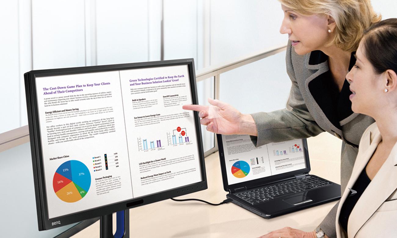 Idealny do domu i biura monitor BenQ BL2423PT
