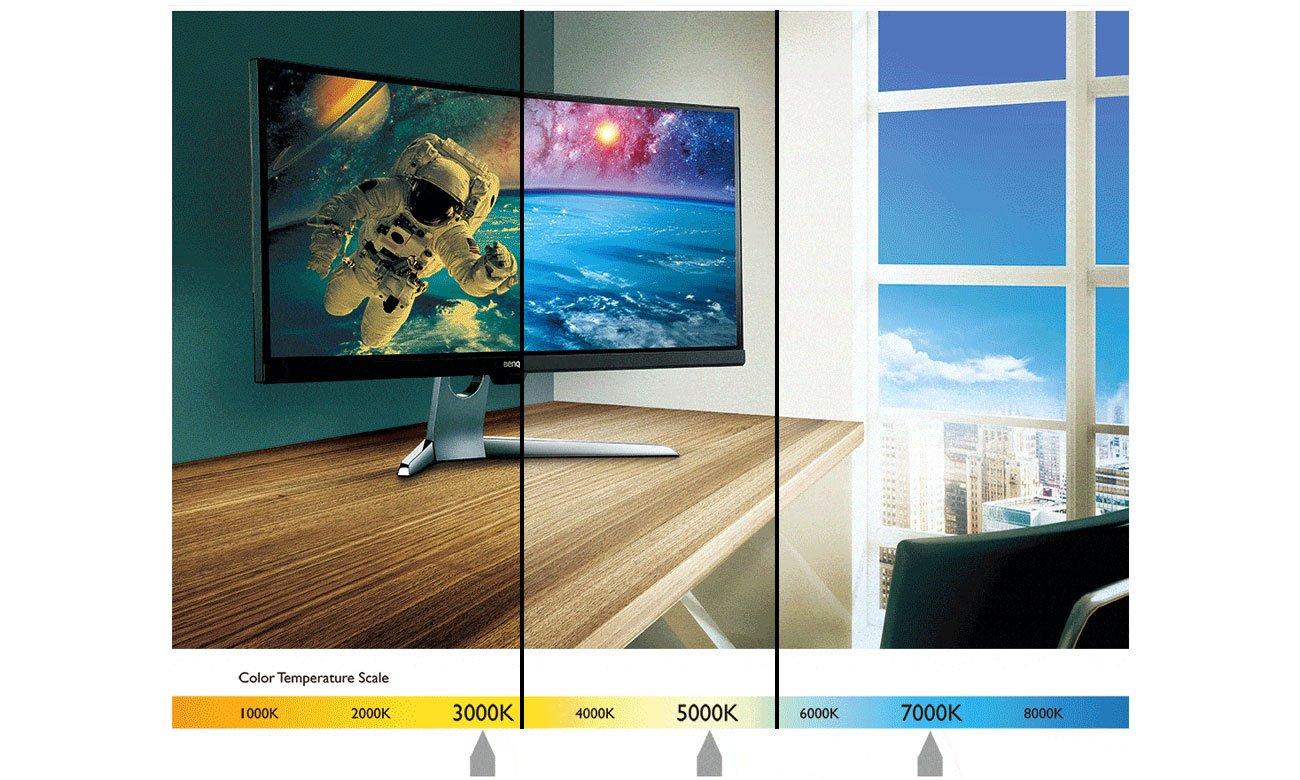 Benq EX3203R Technologia Brightness Intelligence Plus