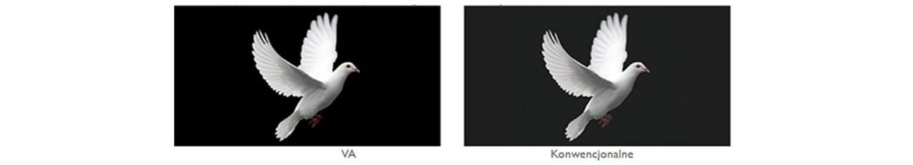 BenQ GW2270H wysoki współczynnik kontrasu