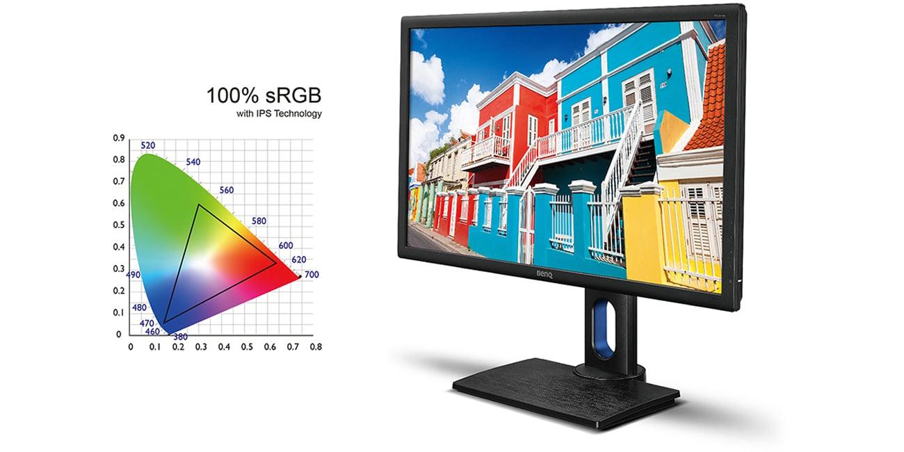 BenQ PD2700Q Odwzorowanie Barw