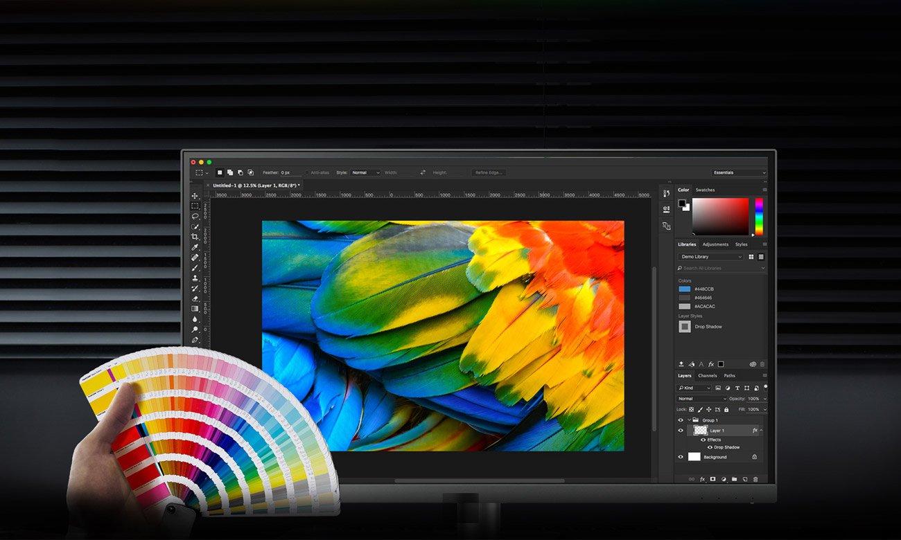 BenQ PD2720U 4K HDR Odwzorowanie kolorów