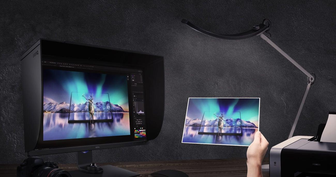 Monitor dla grafików i fotografów BenQ SW321C