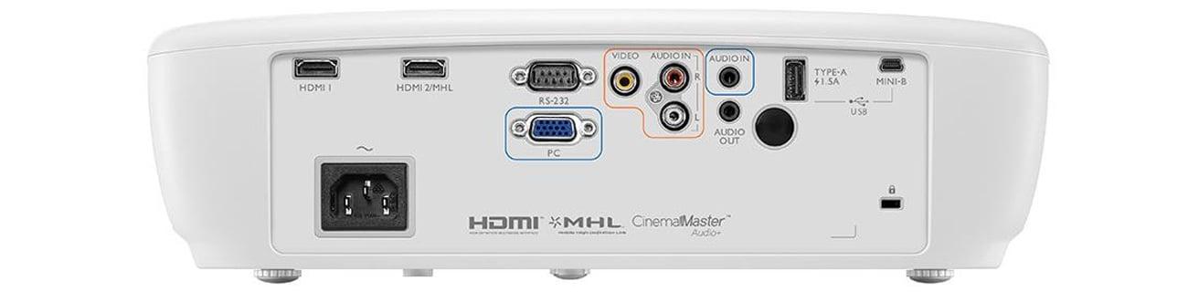 BenQ W1090 DLP Technologia MHL