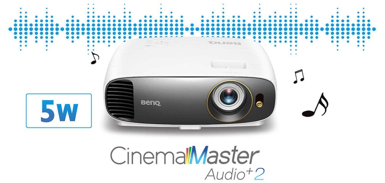 BenQ W1700 4K HDR CinemaMaster Audio+ 2