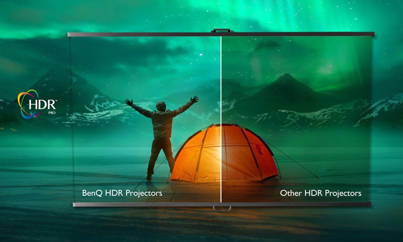 Projektor BenQ W2700 DLP 4K HDR