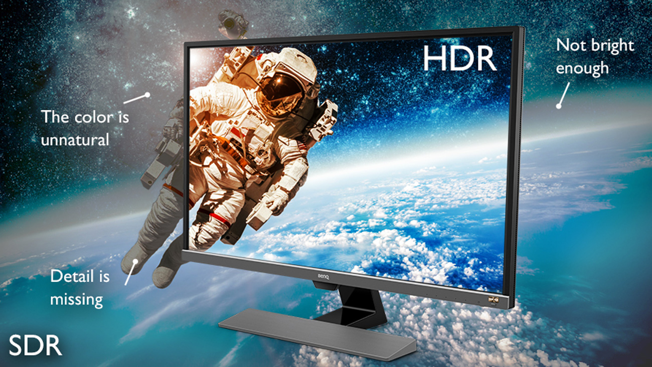 BenQ EW3270U HDR