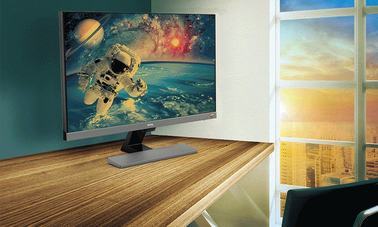 BenQ EW3270U Inteligentna kontrola jasność i temperatury obrazu