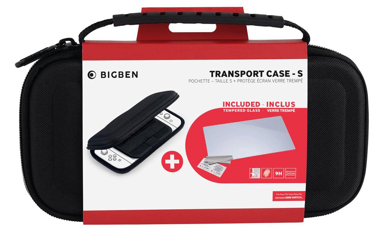 Etui BigBen Transport Case + Szkło do Nintendo Switch Lite