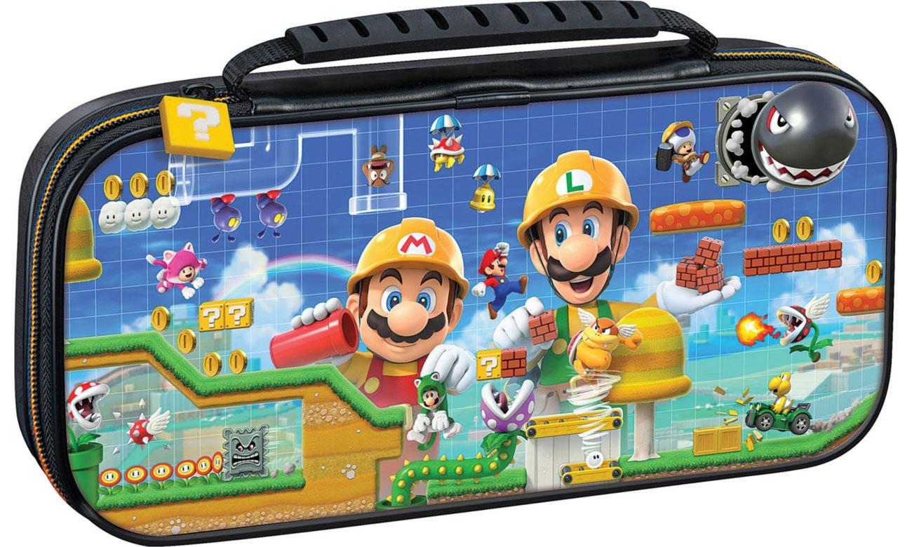 Etui BigBen Mario Maker na konsolę Nintendo Switch