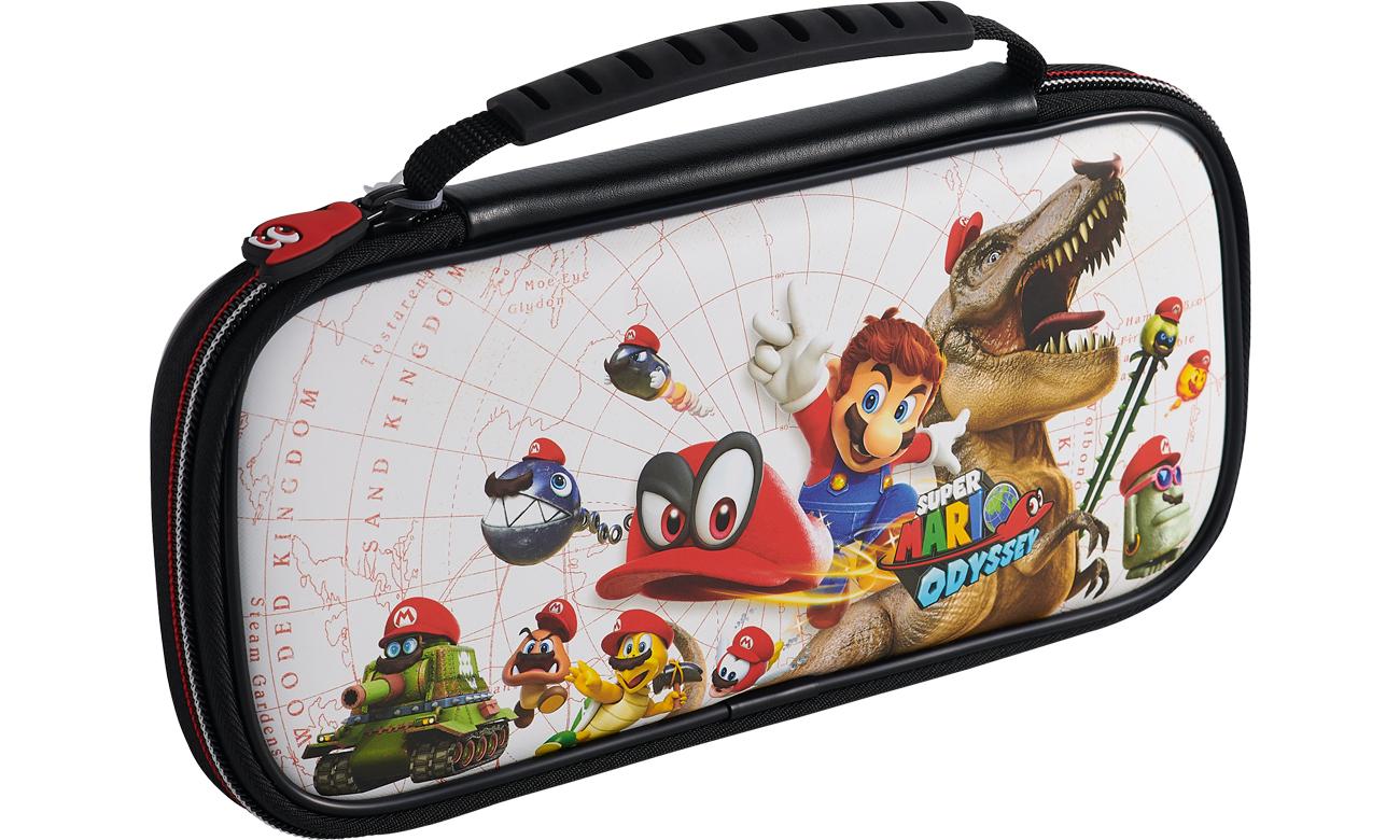 Etui BigBen Mario Odyssey na konsolę Nintendo Switch Białe