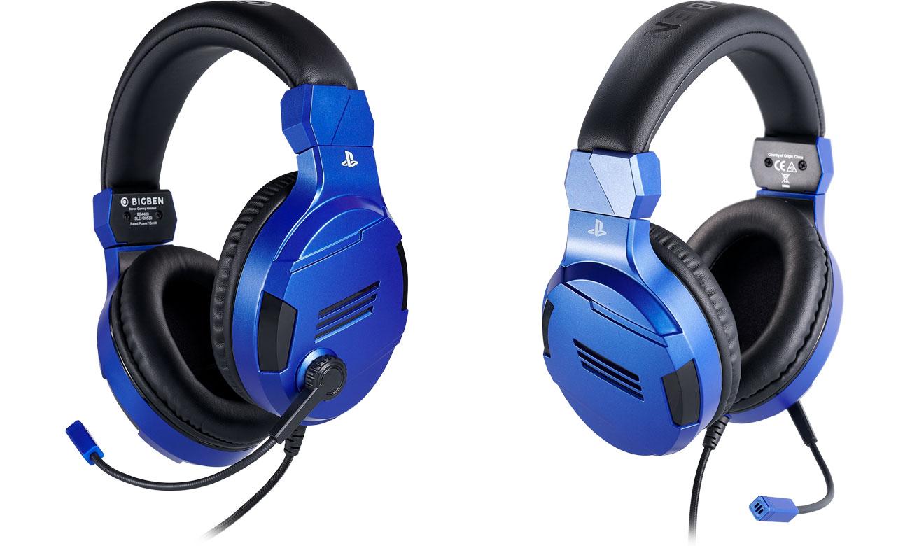 Zestaw słuchawkowy BigBen do konsoli PS4 Niebieski
