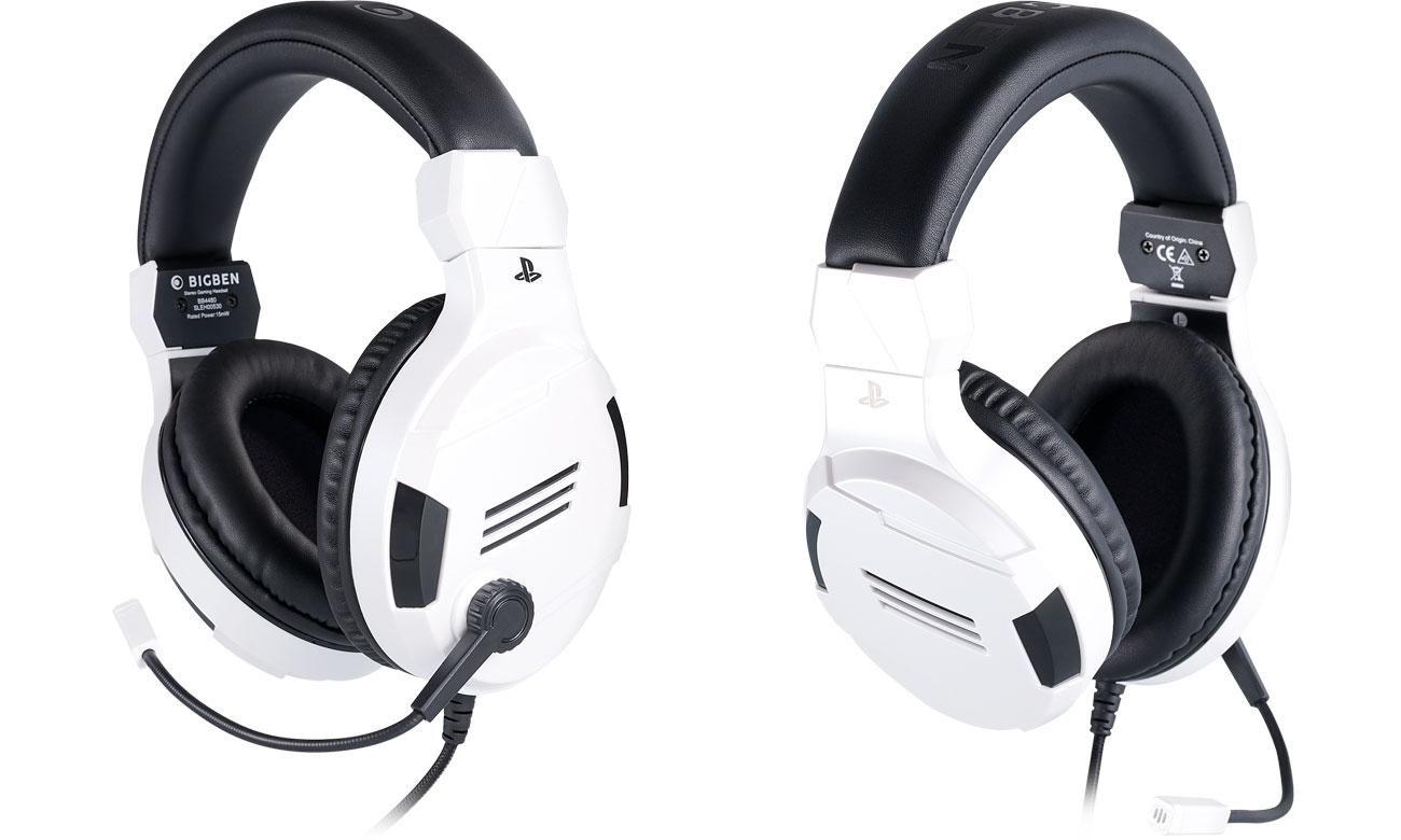 Zestaw słuchawkowy BigBen do konsoli PS4 Biały