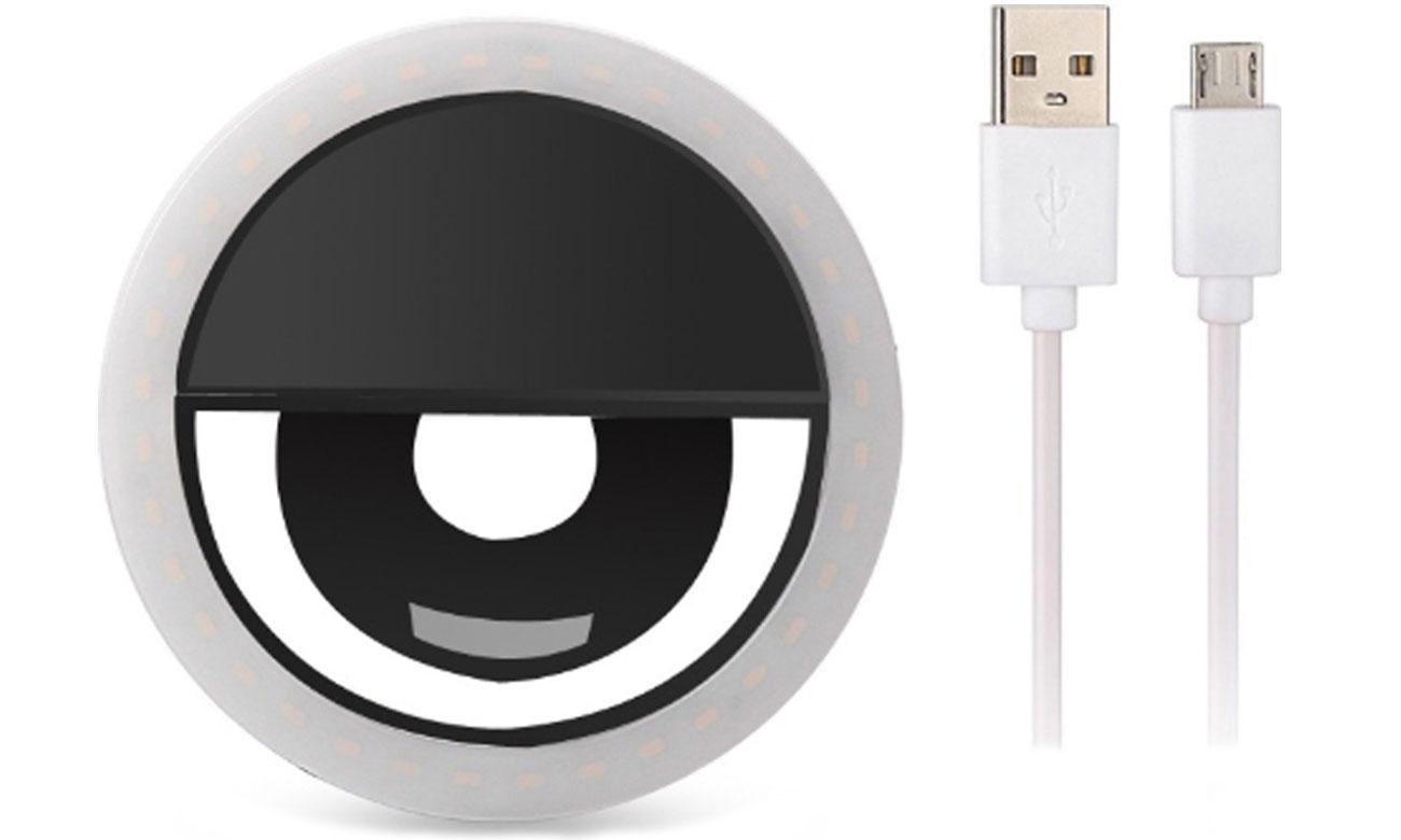 Lampa LED BigBen Universal Clip-On LED Ring do Selfie