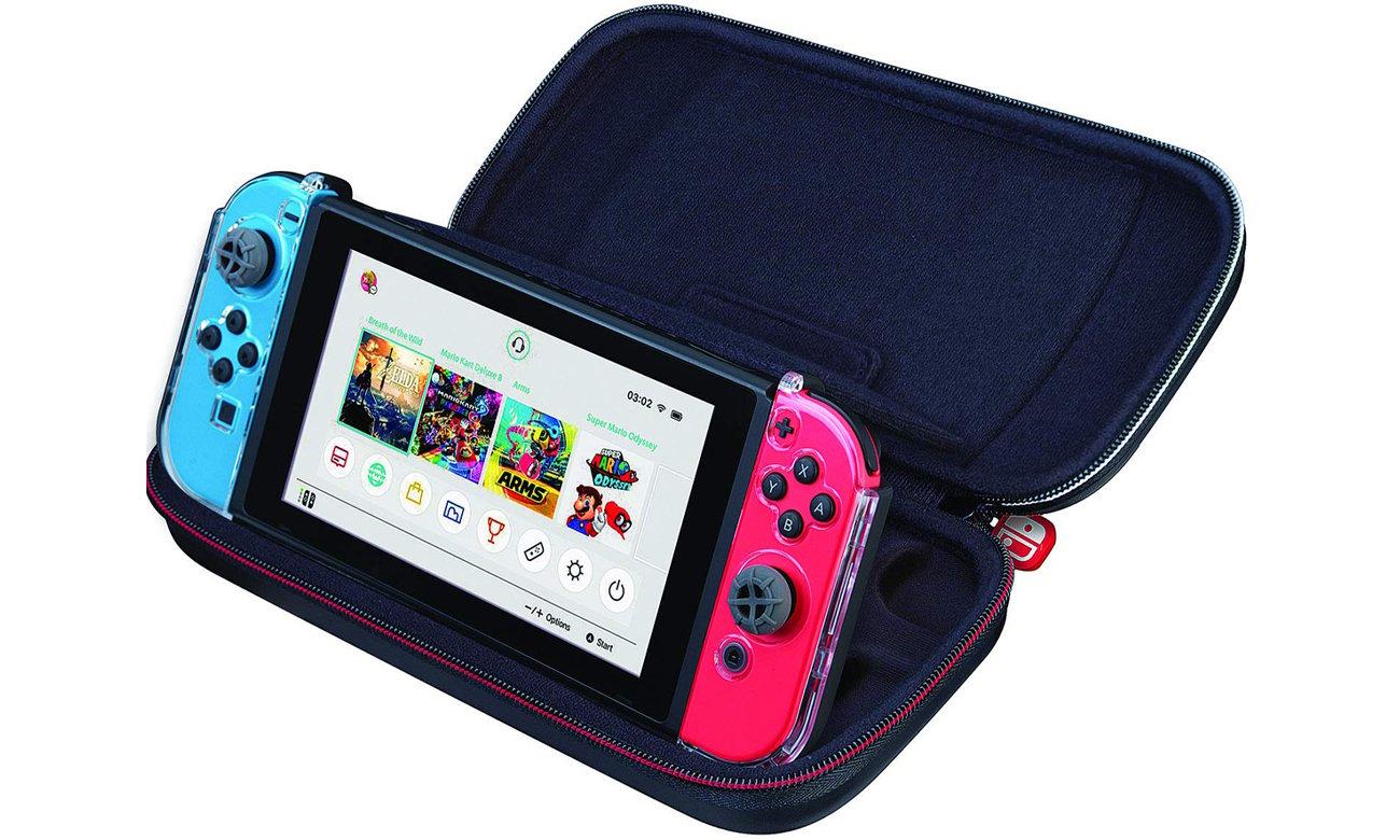 Pokrowiec na konsole nintendo switch pudełka