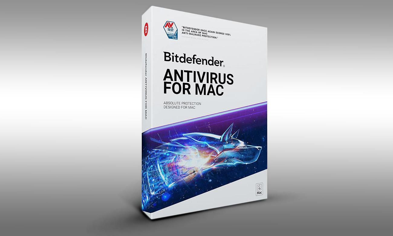 Bitdefender Antivirus for Mac 2019 Absolutna ochrona dla komputerów Mac