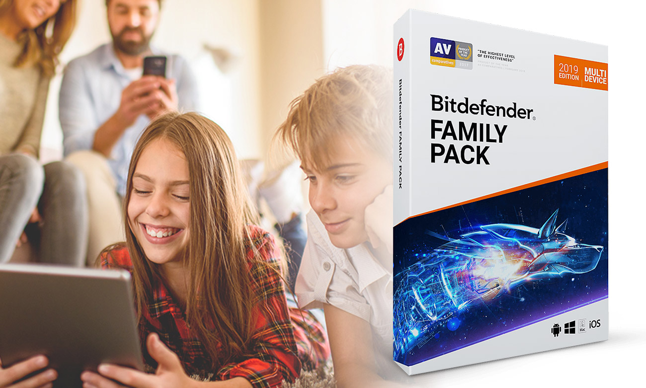 Bitdefender Family Pack 2019 Asystent Rodzica