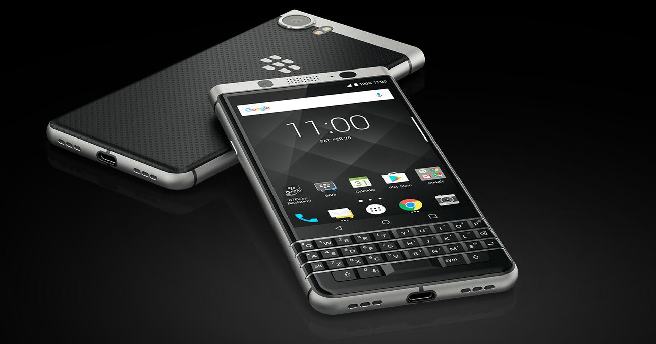 BlackBerry KEYOne wytrzymała bateria