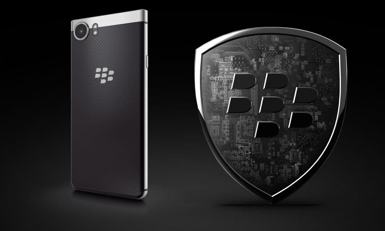 BlackBerry KEYOne zabezpieczenia DTEK