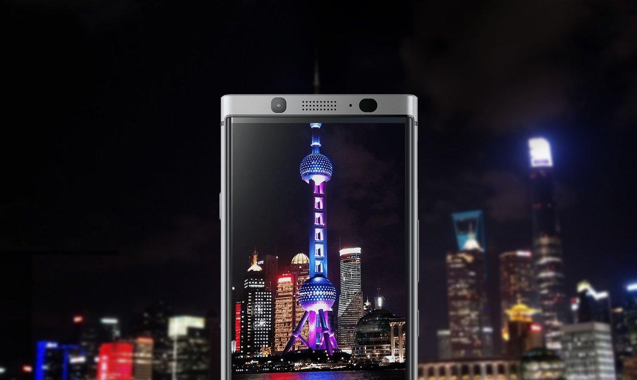 BlackBerry KEYOne aparat 12 mpix z matrycą Sony IMX378