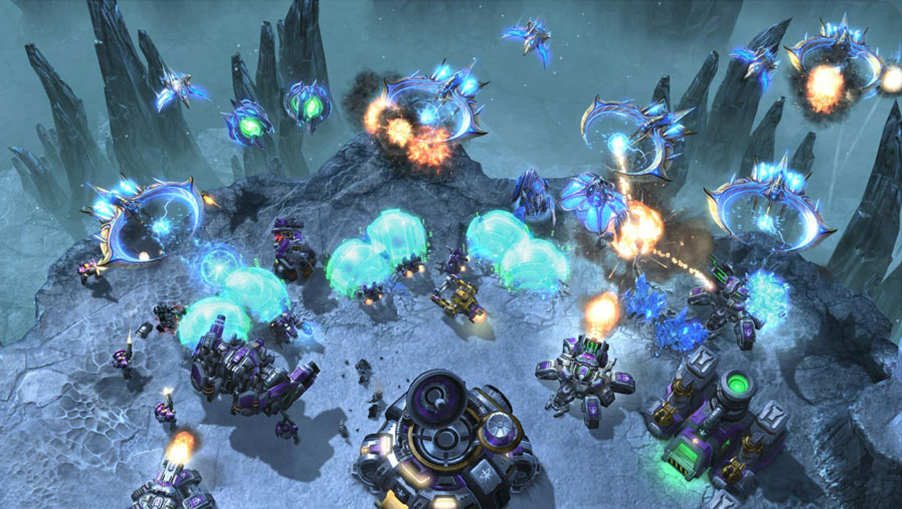 Blizzard Starcraft II: Heart of the Swarm battle.net