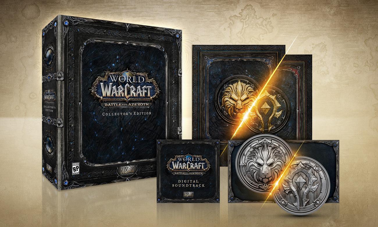 World of Warcraft: Bitwa o Azeroth -Edycja Kolekcjonerska