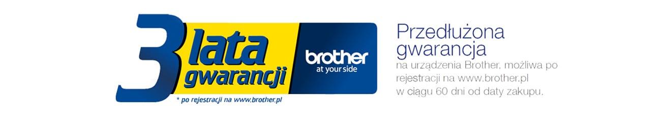 Brother ADS-3600W 3 lata gwarancji