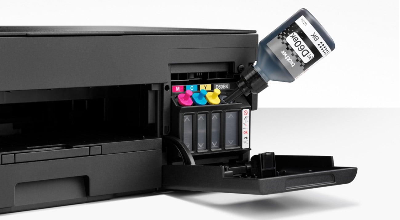 Prosty system zbiorników - tanie drukowanie