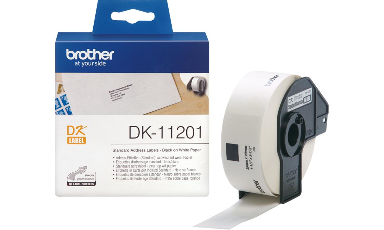 Etykiety papierowe Brother DK-11201