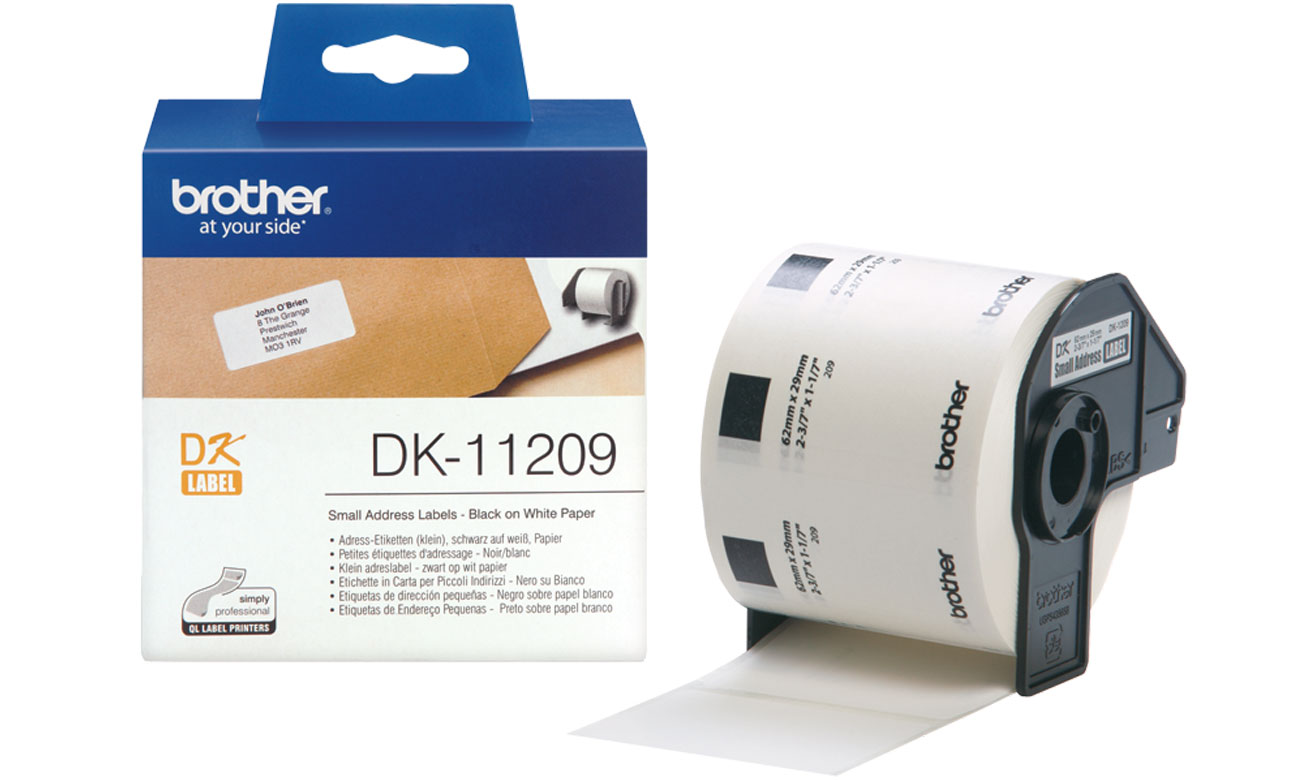 Etykiety papierowe Brother DK-11209