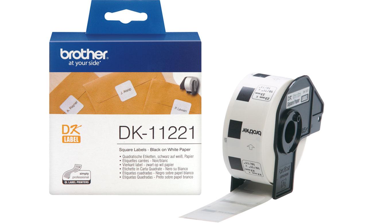 Etykiety papierowe Brother DK-11221