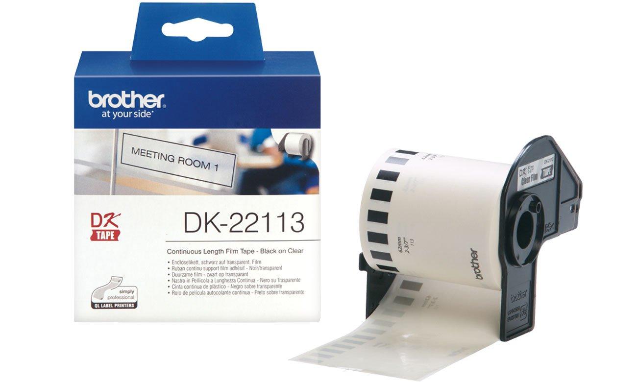 Etykiety papierowe Brother DK-22113
