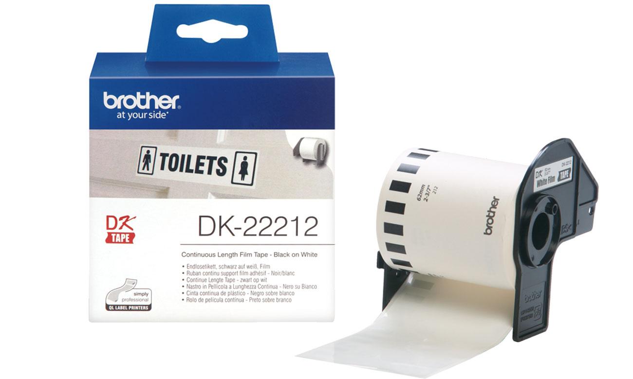 Etykiety papierowe Brother DK-22212