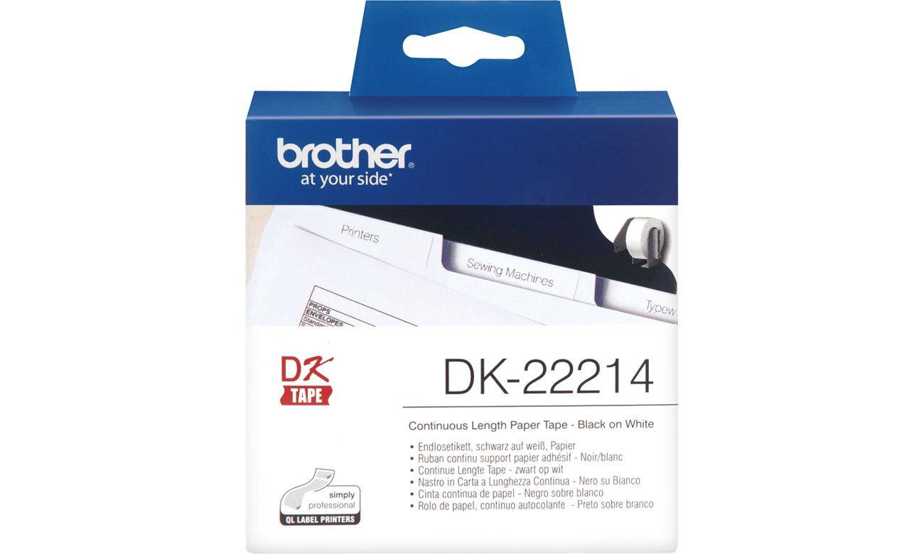 Etykiety papierowe Brother DK-22214