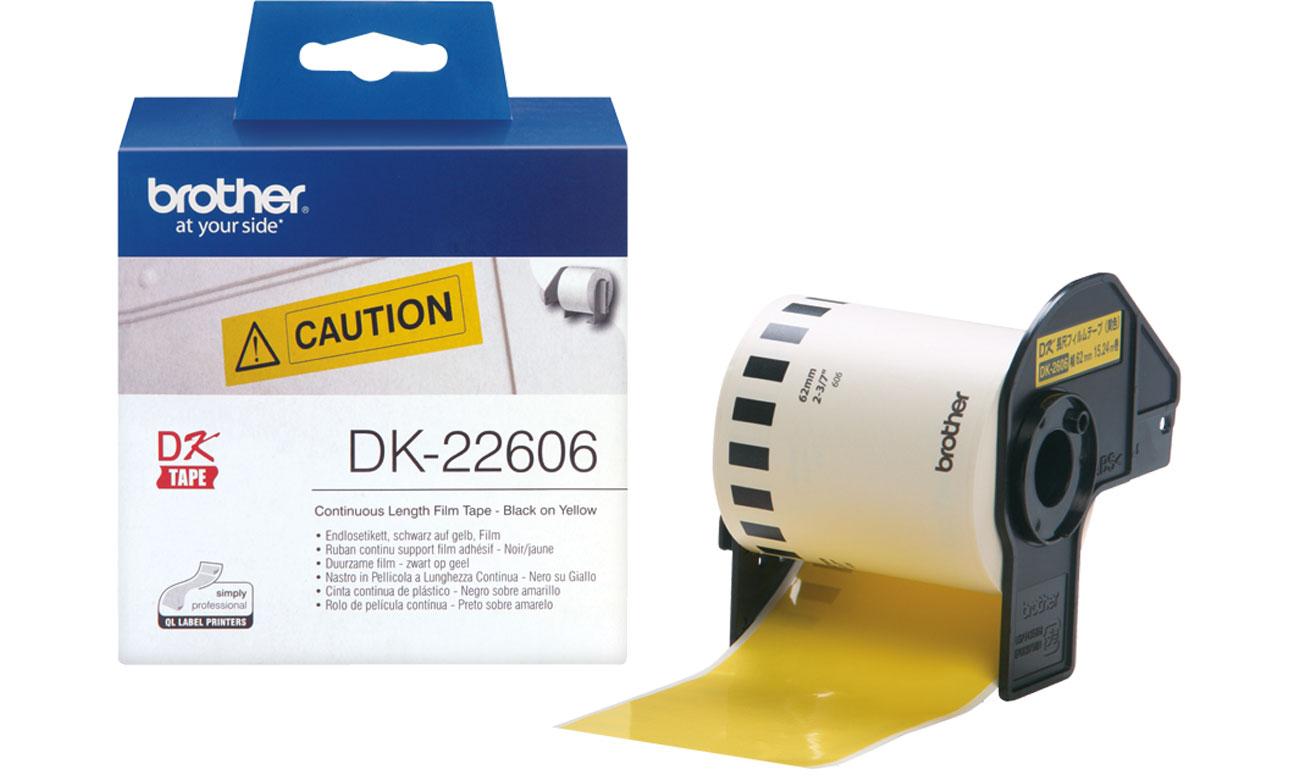 Etykiety papierowe Brother DK-22606