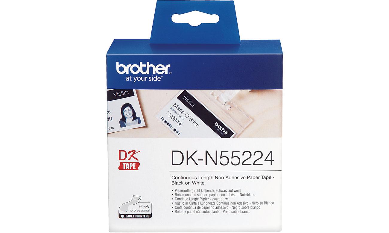 Etykiety papierowe Brother DK-N55224