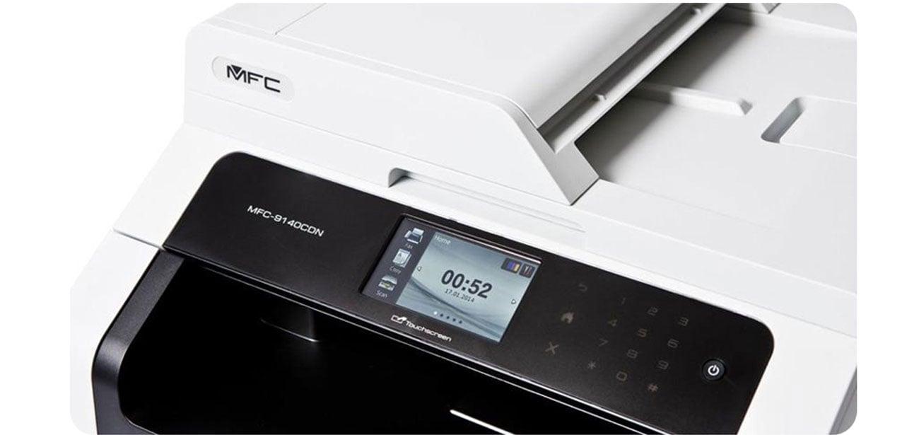 brother mfc 9140cdn lan duplex adf fax kabel usb sklep komputerowy x. Black Bedroom Furniture Sets. Home Design Ideas