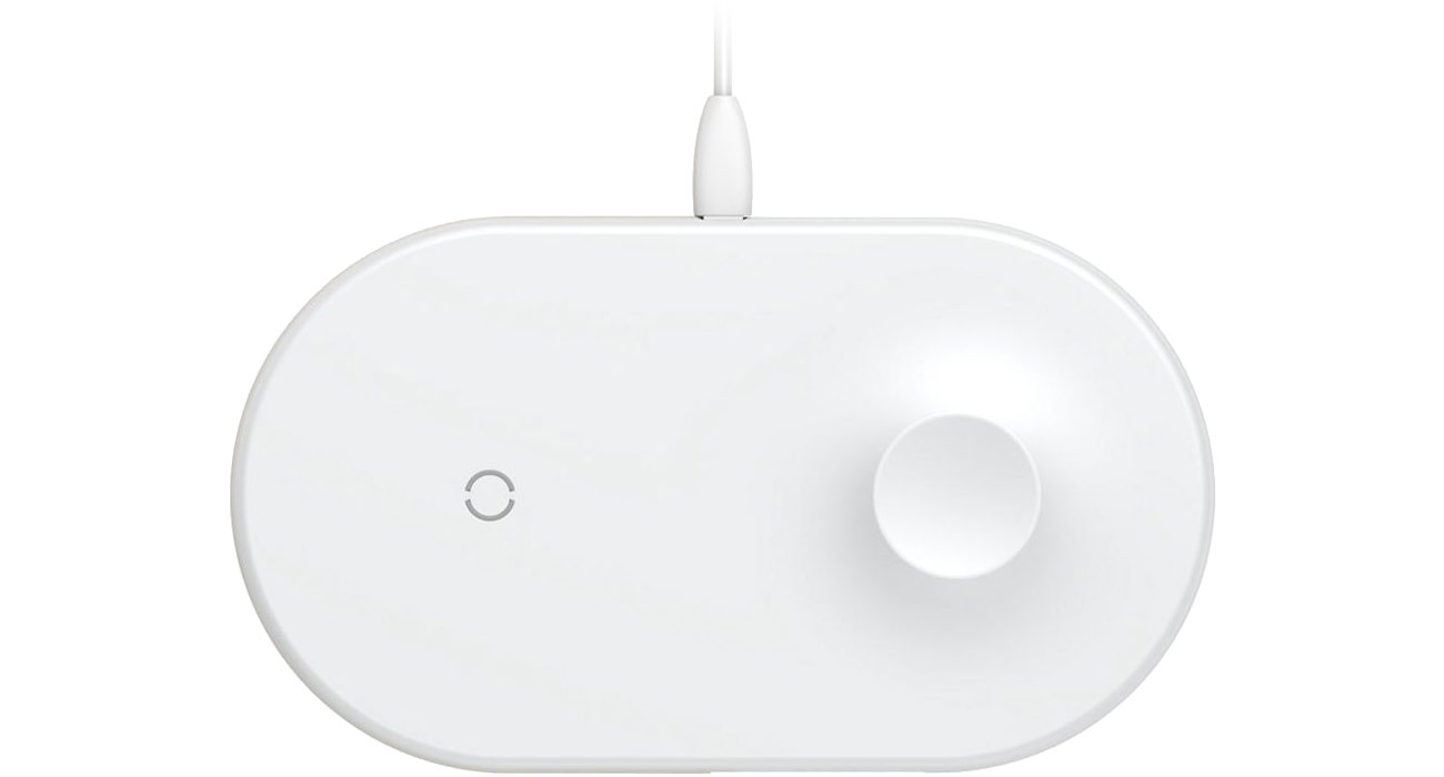 Ładowarka indukcyjna 10W (Smartphone+Apple Watch)