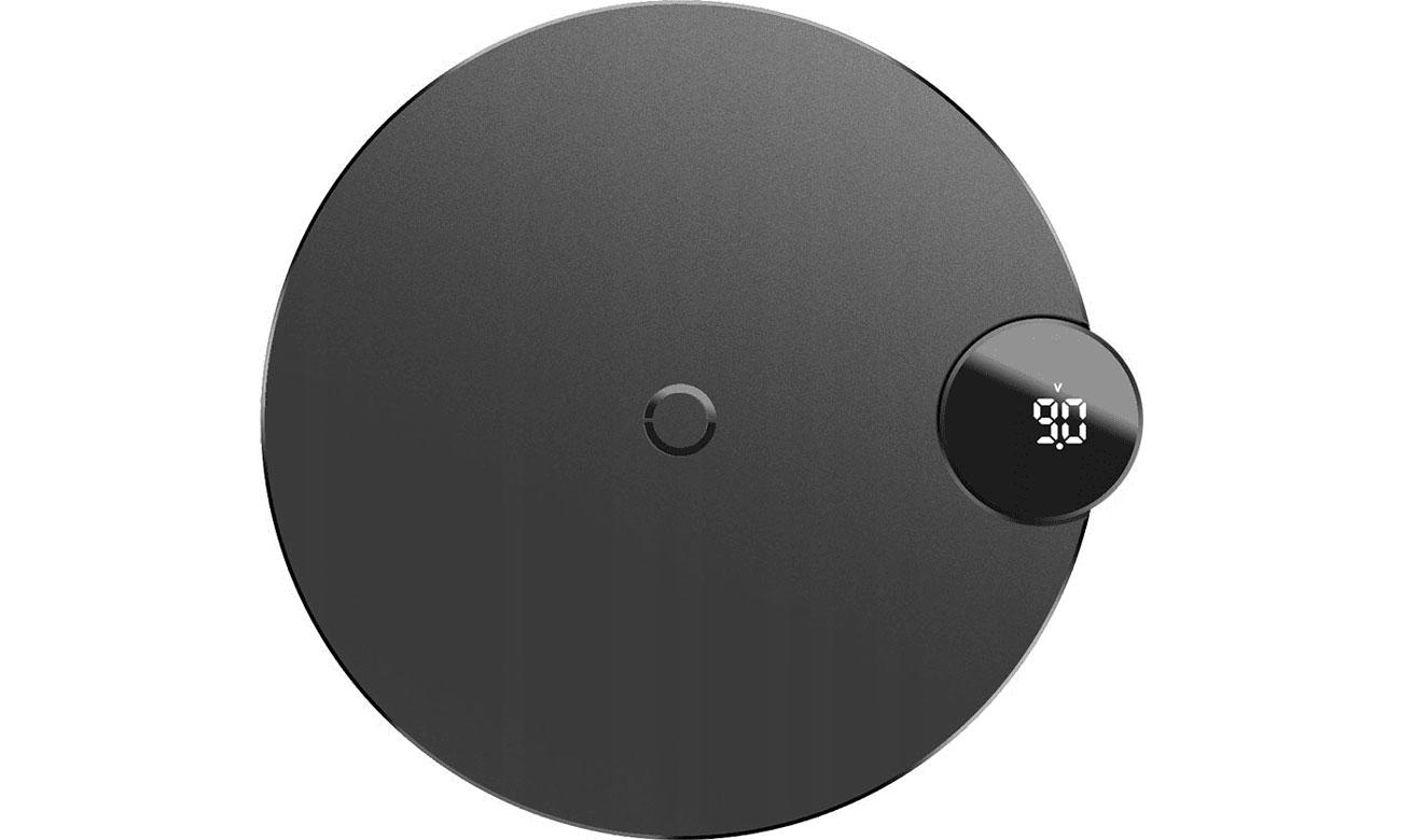 Baseus Ładowarka indukcyjna 10W (LED, czarny)